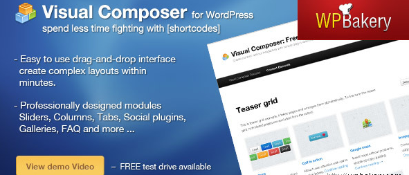 Visual Composer for WordPress Could Save You Hours and Hours and Hours